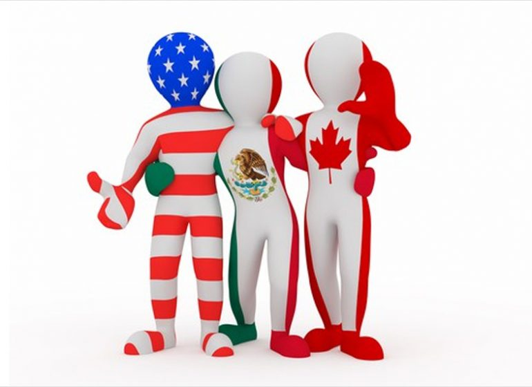 Image result for images of mexican america free trade