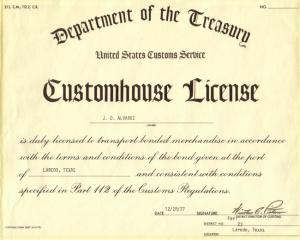 dot license
