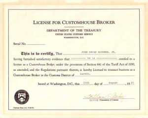 joajr license